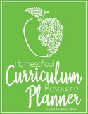 Homeschool Curriculum Resource Planner