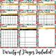 Homeschool Digital Teacher Planner (Google Drive) Editable for Any Year!