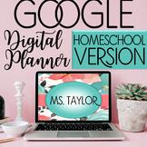 Homeschool Digital Teacher Planner (Google Drive) Editable