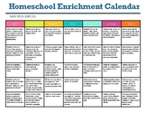 Homeschool Enrichment Calendar for May - Art STEM Technolo