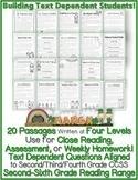 "Homeschool: Google Slides™ & PDF ""20 March Close Reading LEVELED Passages"" TDQs!"