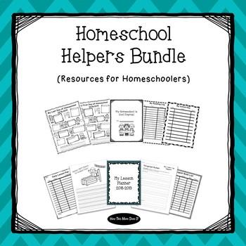 Homeschool Helpers Growing Bundle | Resources for Homeschoolers