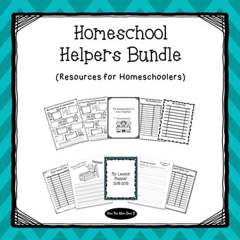 Homeschool Helpers Growing Bundle | Resources for Homeschoolers (2018-2019)