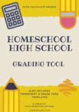 Homeschool High School Grading Tool