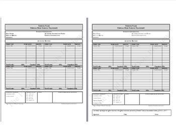 Transcript Template | Homeschool High School Transcript Template With Semesters By Izy Moe