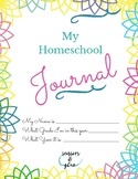 Homeschool Journal for Girls
