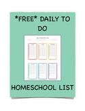 Homeschool List