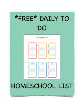 Homeschool List