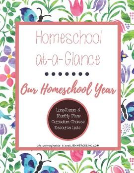 Homeschool Long Range Planner