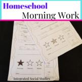 Homeschool Morning Work