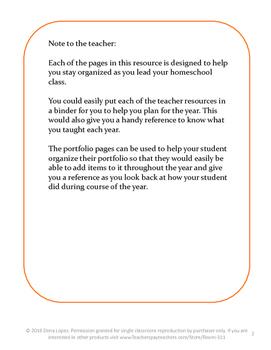 Homeschool Organizational Tools