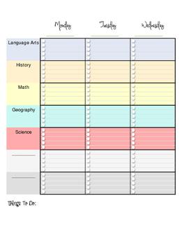 Homeschool Parent Planner 2016-2017