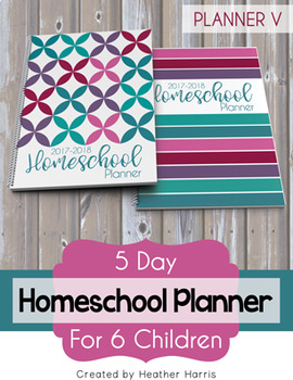 Homeschool Planner {6 kids} 2017-2018
