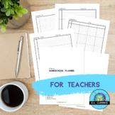 Homeschool Planner Bundle (High Contrast)