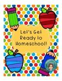 Homeschool Planner Plus for the Parent Teacher