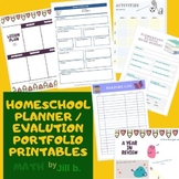 Homeschool Planner Printables: Records, Attendance, Events