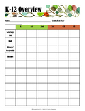 Homeschool Planner - Student Section