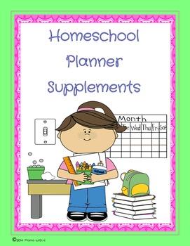 Homeschool Planner Supplements