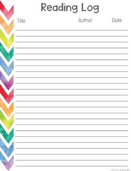Homeschool Planner - Watercolor Mixup Style