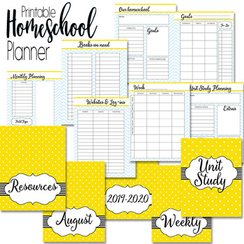 Homeschool Planner and Organizer