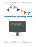 Homeschool Planning Pack