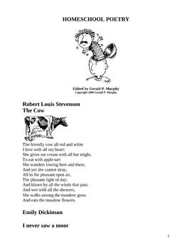 Homeschool Poetry