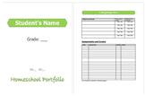 Homeschool Portfolio Organizer