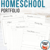 Homeschool Portfolio for Record Keeping & Reporting
