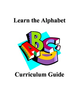 Alphabet Books and Letter of the Week