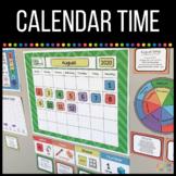 Homeschool Preschool Calendar Time Printables