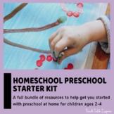 Homeschool Preschool Starter Kit