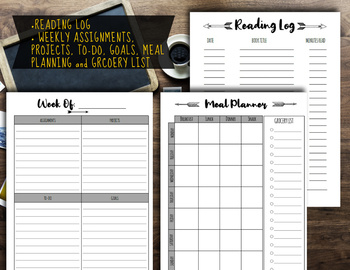 Homeschool Printable Planner