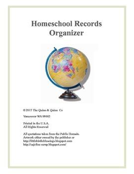 Homeschool Records Organizer