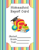 Homeschool Report Card