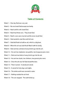 Homeschool Spanish through Noah's Ark