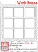 Homeschool Work Box Labels and Accountability Mat