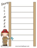 Homeschool Writing Graphic Organizer: Story Climber