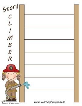 Homeschool Writing Graphic Organizer: Story Climber