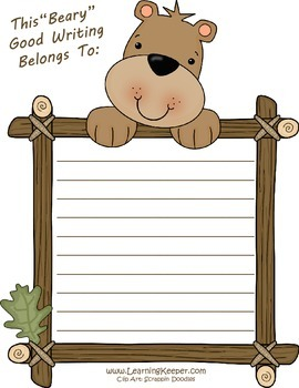 Homeschool Writing Stationery Paper FREEBIE