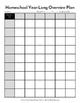 Homeschool Year-Long Curriculum Overview