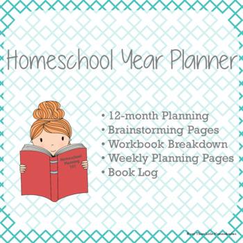Homeschool Year Planner {Undated}