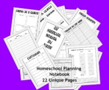 Homeschooling Planning Notebook