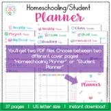 Homeschooling/Student Planner