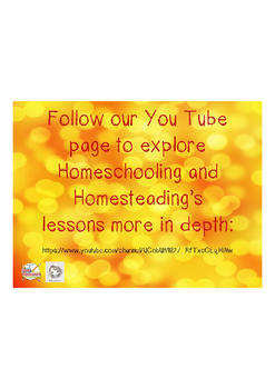 Homeschooling and Homesteading is on YouTube