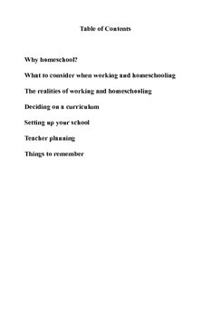Homeschooling and Working How To