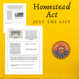 Homestead Act:  Just the Gist of It!