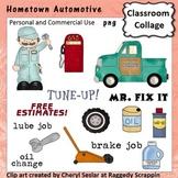 Hometown Automotive - Color - pers & comm truck mechanic w
