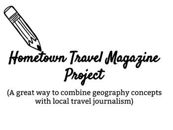 Hometown Travel Magazine Project