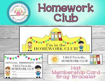 Homework Club Membership Pack