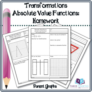 Homework: Absolute Value Function Transformations